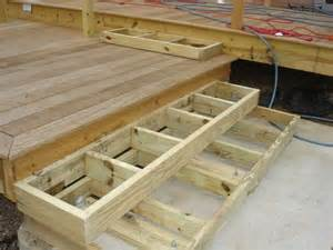 Box Stairs Design Deck Stairs Landing With Box Stairs To Patio Need Help Plants For The Deck And The Backyard