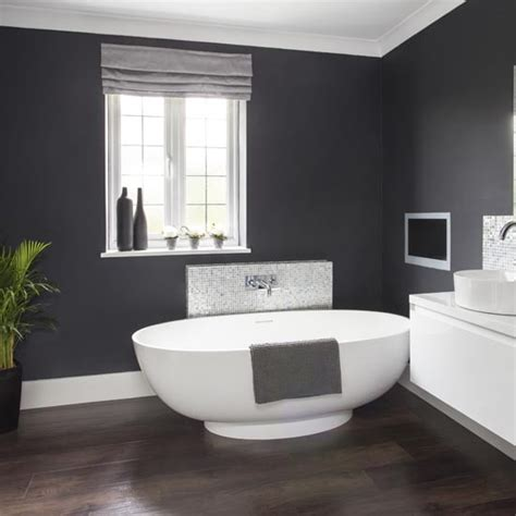 dark grey tiled bathroom bathroom decorating makeover glamorous grey bathroom housetohome co uk