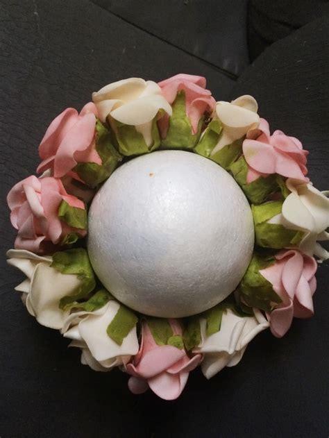 como hacer un arreglo de esferas de flores c 243 mo hacer lindos ornamentos de esferas florales