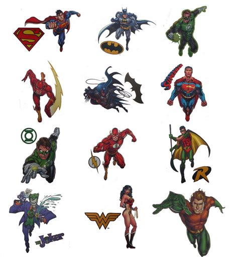 henna tattoos dc dc comics temporary tattoos batman superman