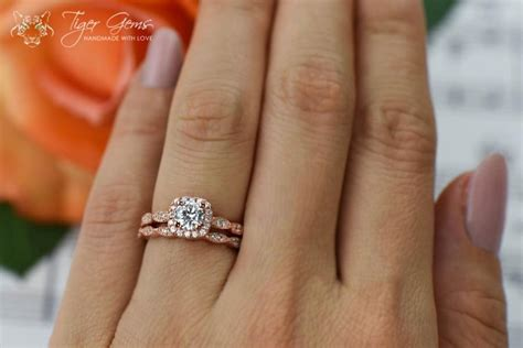 3 4 carat rings wedding promise