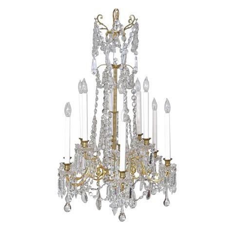 Scandinavian Chandeliers Scandinavian Cut Glass And Chandelier With Twelve Lights Circa 1880 For Sale At 1stdibs