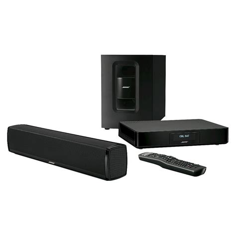 bose cinemate 120 home theater system black