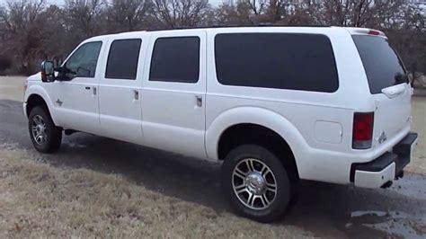 2013 platinum ford excursion six door