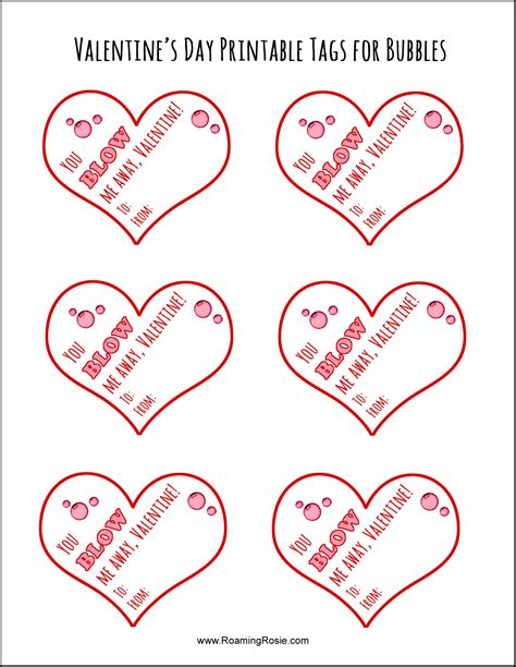 printable valentines tags valentine s day printable tags for bubbles roaming rosie