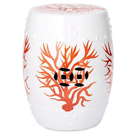 Coral Garden Stool by Garden Stools Living Room Furniture One