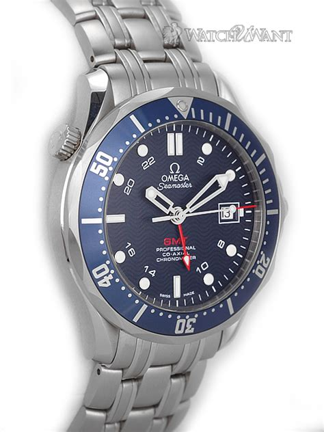 Omega Seamaster Professional Gmt sold listing omega seamaster professional 300m co axial