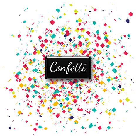 colorful confetti background illustration   vectors clipart graphics vector art