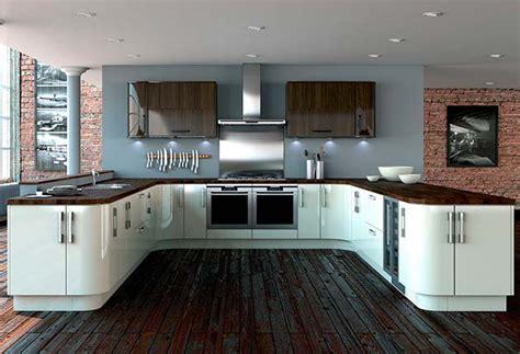modern high gloss kitchens hline