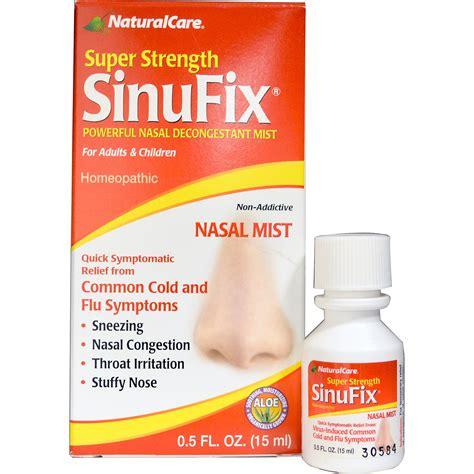 decongestant for dogs care strength sinufix powerful nasal decongestant mist 0 5 fl oz 15