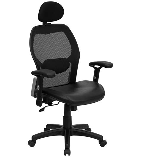 Chair For High Desk by High Back Mesh Desk Chair In Office Chairs