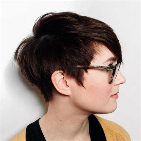 Different hairstyles for Short Hairstyles For Round Faces And Thick Hair Cute Looks with Short
