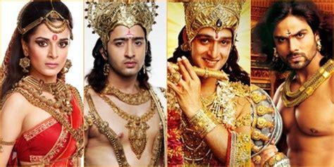 cerita film maha barata shaheer sheikh 10 wajah asli pemeran serial mahabharata