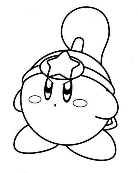 printable coloring pages kirby free printable kirby coloring pages for
