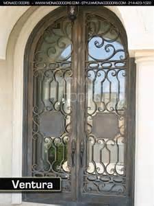 Iron Wine Cellar Door - wrought iron entry doors monaco doors