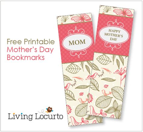 printable bookmarks mother s day mother s day bookmark free printables