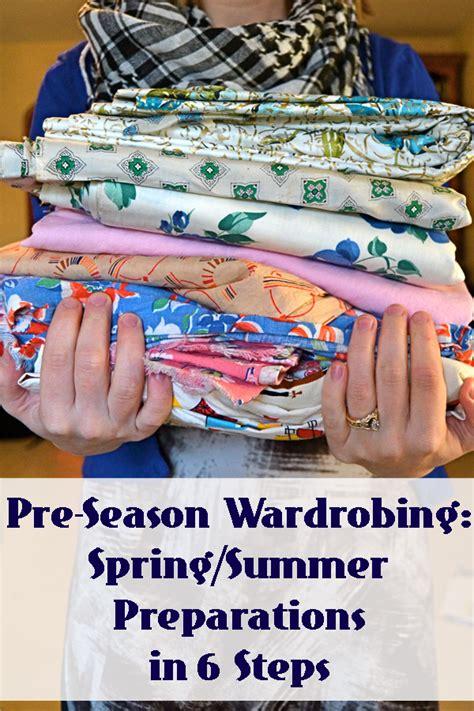 Wardrobing Tips by Pre Season Wardrobing Summer Preparations In 6