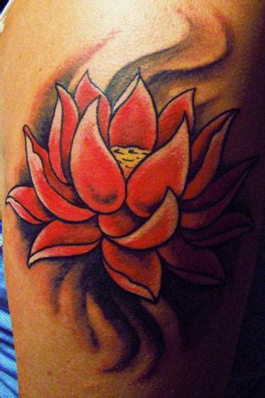 tattoo lotus red lotus tattoo images designs