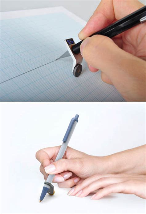 drawing tool with measurements digital device to draw measure elusive lines