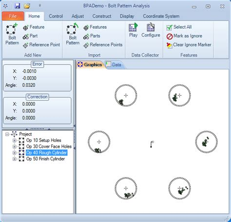pattern viewer manager bolt pattern analysis features