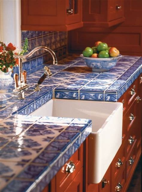 Tile Kitchen Countertops D 233 Cor Trend 24 Tile Kitchen Countertops Digsdigs