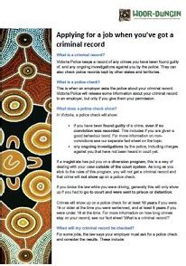 I Got A Criminal Record Applying For A When You Ve Got A Criminal Record Aid