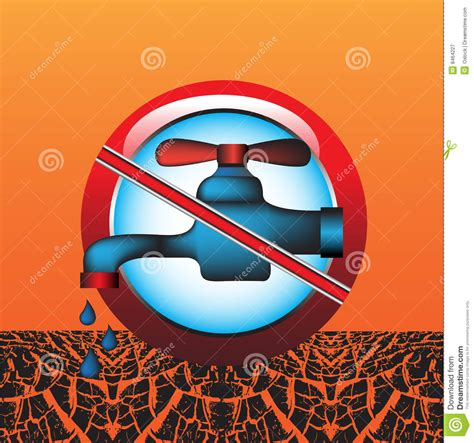 not water do not waste water royalty free stock photography image 8464227