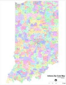 zip code map indiana zip code map pdf indiana map