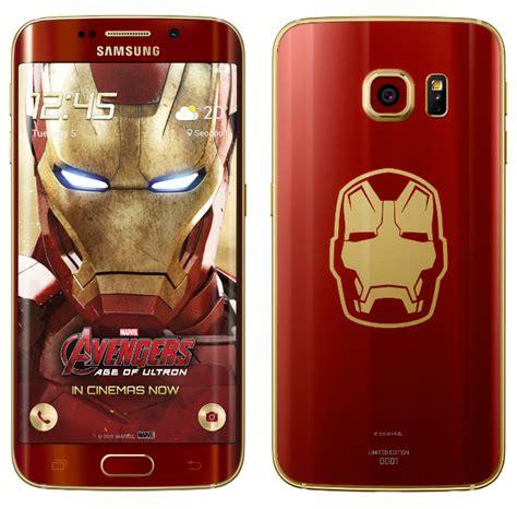 wallpaper samsung galaxy s6 edge ironman samsung announces galaxy s6 edge iron man edition phone