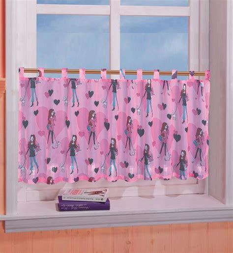 kinderzimmer deko per nachnahme kinderzimmer scheibengardine panneaux herz motiv 50 x