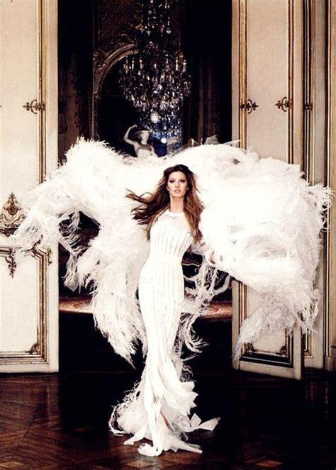 Gisele Bundchen Turns In Wings by S Secret Wings Dress Gisele Bundchen