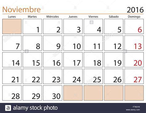 Calendario Noviembre 2016 November Month In A Year 2016 Calendar In