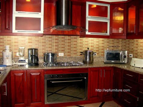 mahogany wood kitchen cabinets kitchen cabinet stains improving modern interior