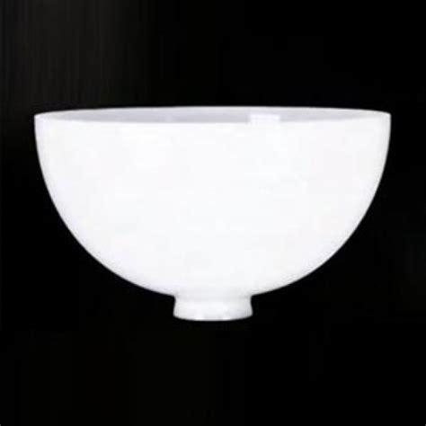 Glass Chandelier Replacement Parts 2 1 4 Quot X 9 3 4 Quot White Opal Reflector Bowl Floor Lamp Glass