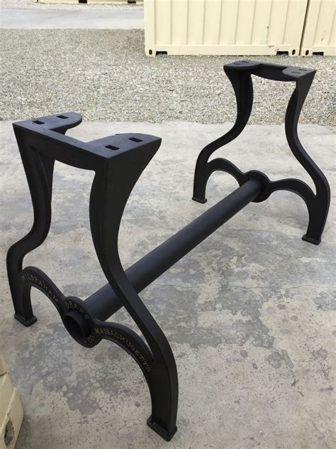 industrial cast iron table legs rustic farm table leg base castiron industrial