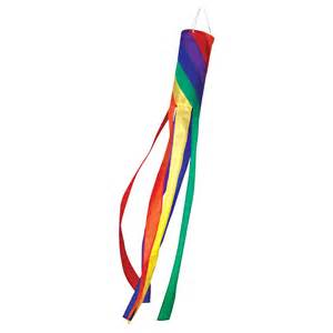 Decorative Plates For Display Rainbow Spiral Windsock 60in