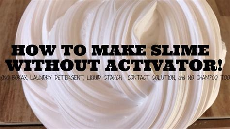 tutorial slime activator how to make slime without activator images how to guide