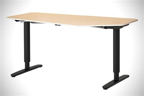 Sit To Stand Desk Ikea Ikea Bekant Sit Stand Desks Hiconsumption