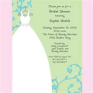gift card bridal shower invitation wording gift card