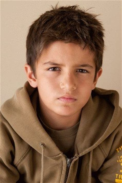 how should an 11year boys hair look like hey georgie does this look like little brant to you he