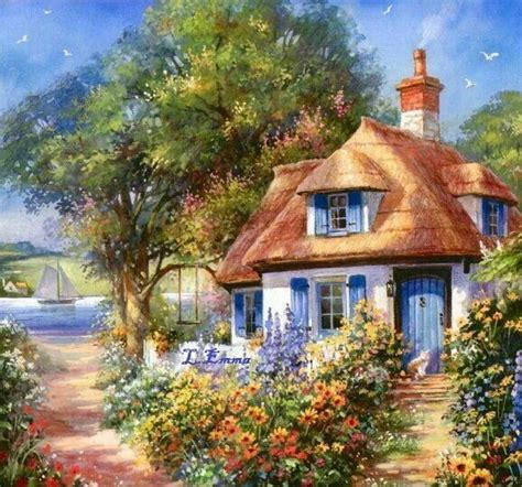 Cottages At Summer by Summer Cottage