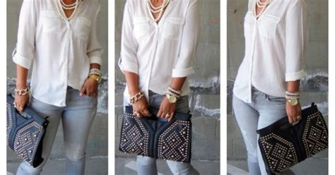 Mimis The Look Stylish Accessories On The Cheap by Mimi G Style Mimi G Style Todays Look Studs Pearls