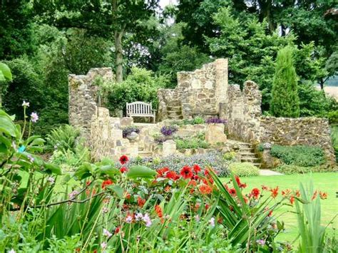 The Garden by Great Comp Garden The Tower Ruins