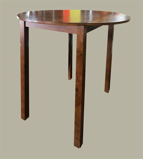 Drop Leaf Bar Table Uhuru Furniture Collectibles Drop Leaf Pub Table 125 Sold