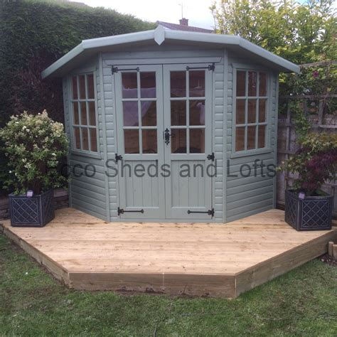 Summer Houses Sheds by Corner Summer Houses Ecco Sheds And Pigeon Lofts