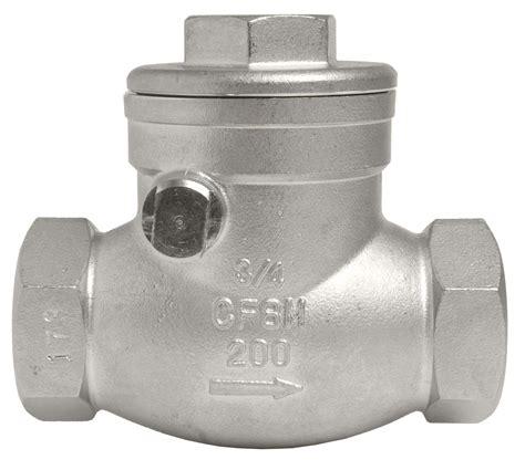 swing check valve stainless steel 316 swing check valves