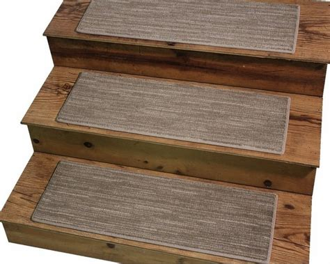 Dog Assist Carpet Stair Treads 9 Quot X27 Quot Basis Chamois Modern Stair Tread Rugs