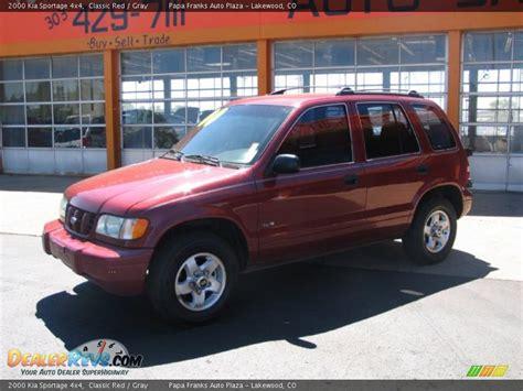2000 Kia Sportage 4x4 2000 Kia Sportage 4x4 Classic Gray Photo 2