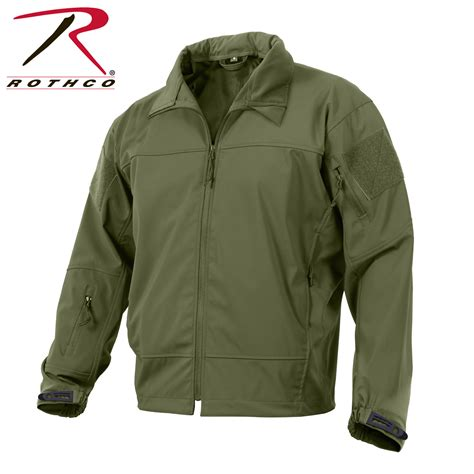 Jaket Vest Tactical Outdoor rothco covert ops light weight soft shell jacket