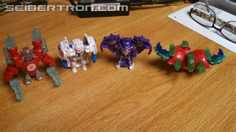 Minicon Retail transformers robots in disguise minicon 4 pack 2 found at retail in images and review